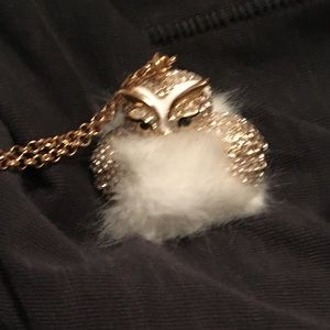 Kate spade Star Bright owl necklace